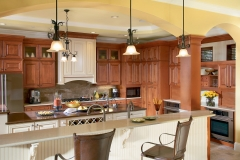 sierra-vista-maple-cognac-kitchen